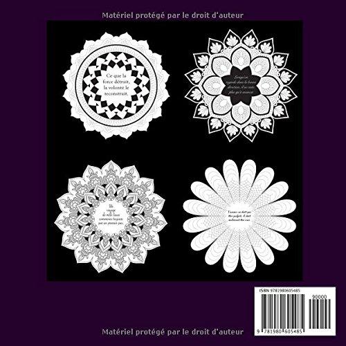 La Vie Positive Mandala De Nuit Livre De Coloriage Anti Stress