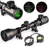Chinoook 3-9X50 E Mil-dot Illuminated Red & Green Hunting Rifle Scope Optical Gun scope