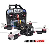ARRIS X-Speed 250B 250mm Quadcopter Racer FPV 250 Racing Drone RTF With F3 Flight Controller + HD Camera + FPV TX + FlySky FS-i6-M2 Transmitter
