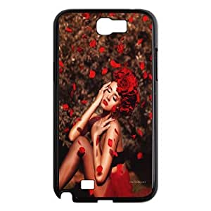 Beautiful flower-Rose,quotes of love series protective cover For Samsung Galaxy Note 2 Case ROSE-021-U52836