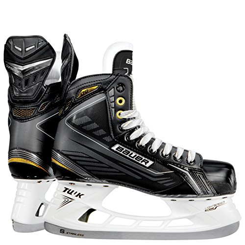 Bauer Supreme 170 Ice Skates [SENIOR],Black / White,8 D(M) US