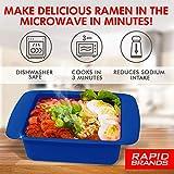 Rapid Ramen Cooker   Microwave Ramen in 3 Minutes
