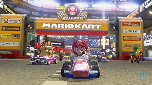 Mario Kart 8 Limited Edition Blue Spiny Shell Nintendo Wii U Game by Nintendo (Image #1)