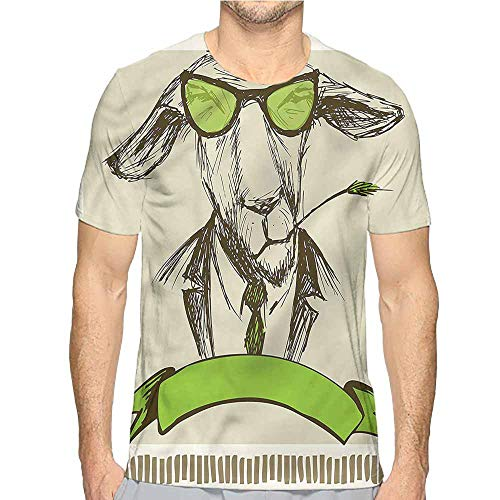 (Comfort Colors t Shirt Modern,Donkey with Grass Caricature t Shirt XL)