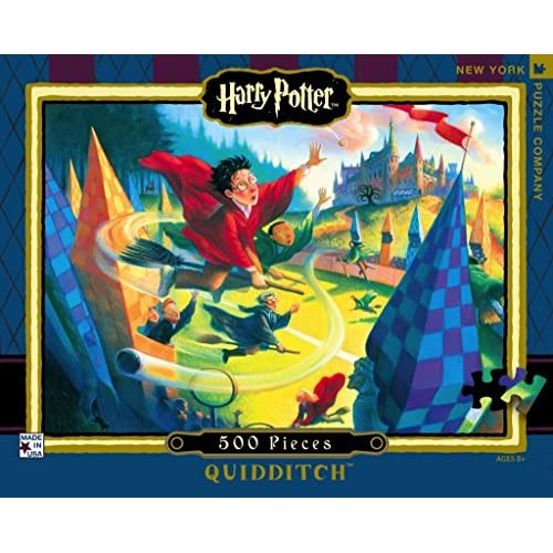 on sale New York Puzzle Company - Harry Potter Quidditch 500