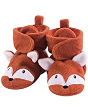 Hudson Baby Baby Cozy Fleece Booties with Non Skid Bottom
