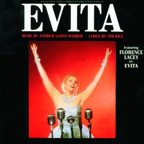 In stock Outstanding Andrew Lloyd Webber Tim Rice Lacey Evita Florence - Featuring