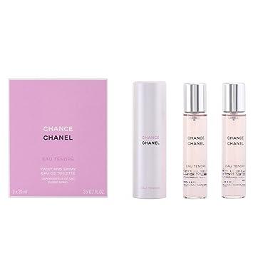 1ef792c1c47 Chanel Chance Eau Tentre Eau De Toilette Spray Rechargeable 3x 20ml ...