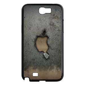 Broken Apple Wall Samsung Galaxy N2 7100 Cell Phone Case Black Fantistics gift SJV_883860