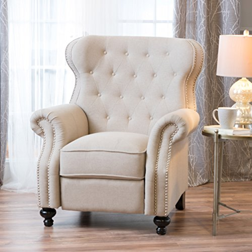 Wheat Back Chair - Christopher Knight Home 300659 Wyland Recliner, Wheat