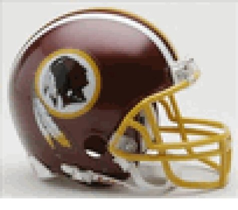 Washington Redskins Replica Mini Helmet (Mini Helmet Riddell Washington Nationals)