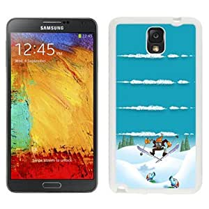 NEW Unique Custom Designed For Case Samsung Note 3 Cover Phone Case With Winter Sports Plants Vs Zombies Homescreen_White Phone Case
