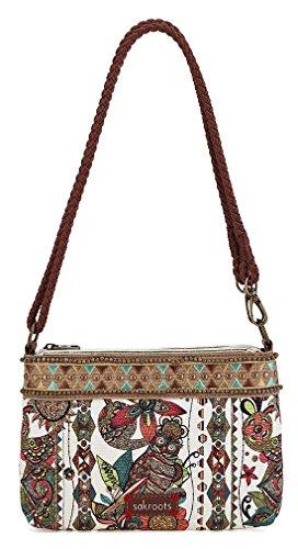 Purse Boutique (Sakroots Women's Campus Mini Shoulder Bag OS, Natural)