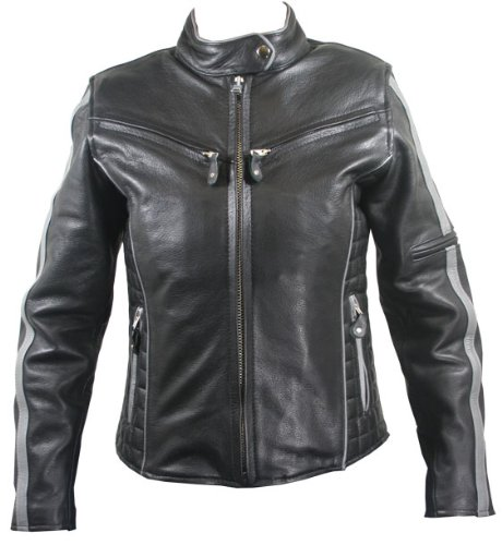 motorcycle vented jacket - 9