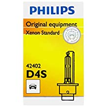 Philips D4S Standard Xenon HID Headlight Bulb, 1 Pack