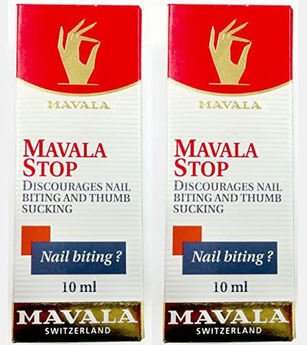 Mavala Stop for Nail Biting and Thumb Sucking, 0.3 Fl Oz (Pack of 2)