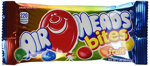 AirHeads Bites Fruit 2 Ounce Bag, (Pack of 24 ()