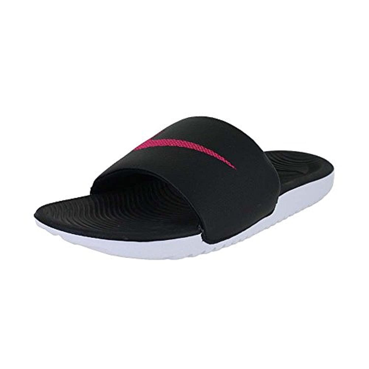 Womens Kawa Slide (6 B(M) US Black Vivid Pink)