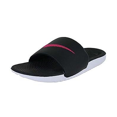 Womens Kawa Slide (7 B(M) US Black Vivid Pink)