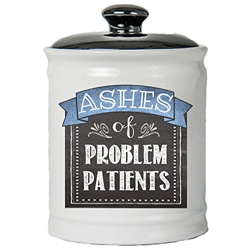 Tumbleweed Jar - Ashes Of Problem Patients Coin Bank - Jar With Lid - Medical Gifs - by Tumbleweed