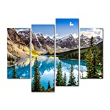 4 Pieces Modern Canvas Painting Wall Art The Picture For Home Decoration Beautiful