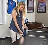 JOOLA Retractable Portable Table Tennis Net and