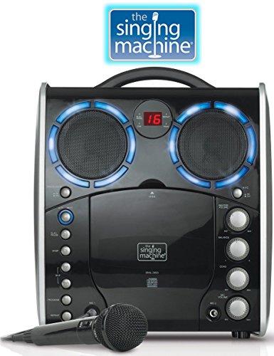 Singing Machine SML-383 Portable CDG Player Karaoke Machi...