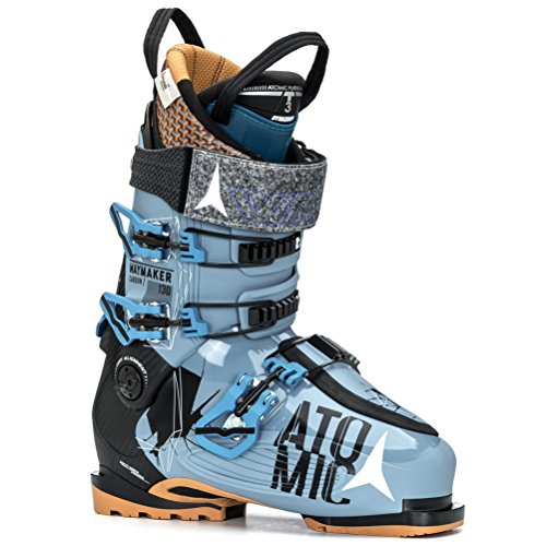 Atomic Waymaker Carbon 130 Ski Boot - Men's Denim/Black, 26.5