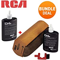 RCA RD-1006 Discwasher Vinyl Record Care System + 1 Extra RD-1046 Fluid