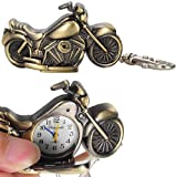 Bronze Motorcycle Men's keychain Watch