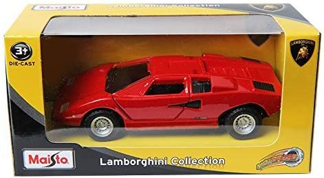 Maisto Lamborghini Countach LP400 RED 1//43 DIE-CAST Hot Wheels CAR TOY model
