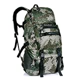 Paladineer Outdoor Hiking Backpack Travel Backpack Camping Daypack 40-liters Camouflage