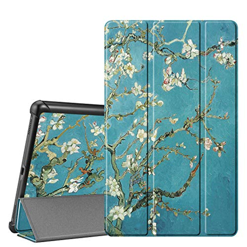 Fintie SlimShell Case for Samsung Galaxy Tab A 10.1 2019 Model SM-T510(Wi-Fi) SM-T515(LTE) SM-T517(Sprint), Ultra Thin Lightweight Stand Cover, Blossom