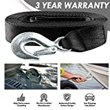 Seamander Boat Winch Strap with Hook and Safety