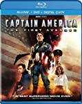 Cover Image for 'Captain America: The First Avenger (Two-Disc Blu-ray/DVD Combo + Digital Copy)'