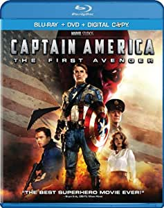 Captain America: The First Avenger (Blu-ray/DVD Combo) (Bilingual)