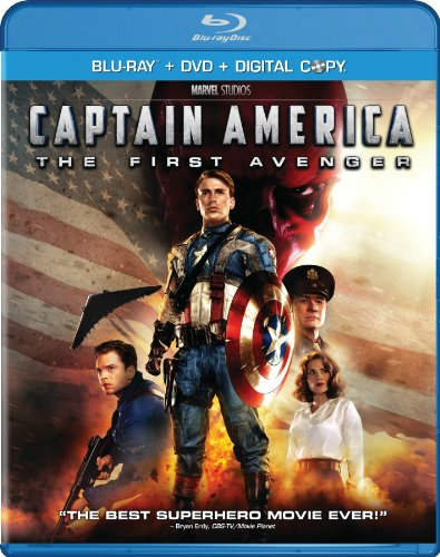 Captain America: The First Avenger (Two-Disc Blu-ray/DVD Combo + Digital - Americas San Los Outlet Diego