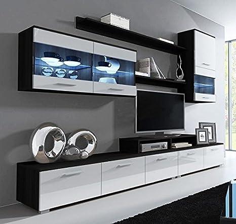 muebles bonitos Letti e Mobili - Mobile da soggiorno Claudia nero e ...