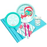 BirthdayExpress Little Spa Party Supplies - Party Pack for 24 Guests