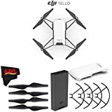 Ryze Tech Tello Quadcopter #CP.PT.00000252.01 + MicroFiber Cloth Bundle