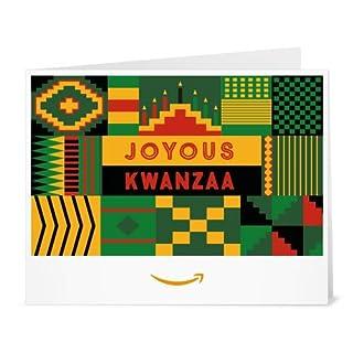 Amazon Gift Card - Print - Joyous Kwanzaa (B01M09H8DW) | Amazon price tracker / tracking, Amazon price history charts, Amazon price watches, Amazon price drop alerts