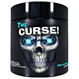 Cobra Labs The Curse Pre-Workout Supplement Blue Raspberry Ice, 50 Servings, 0.55 Pound