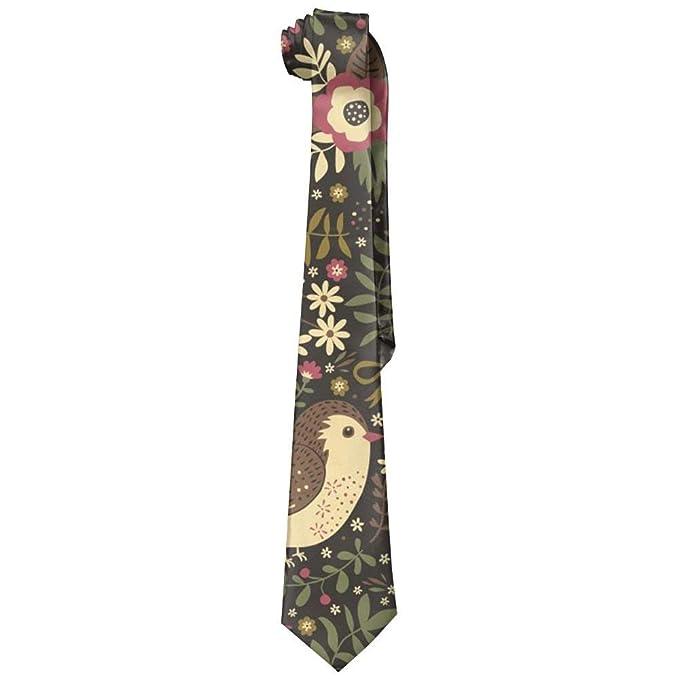 Jxrodekz Pájaro de moda Corbata para hombre Corbata larga Corbata ...