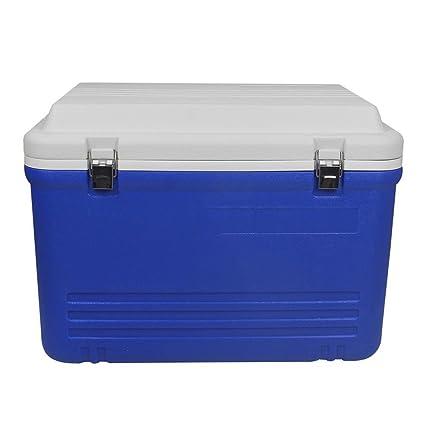 JXS Cool Box Full PU - Refrigerador de Poliuretano, Camping, Picnic, con Termómetro