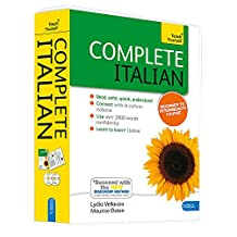 Complete Italian Beginner to Intermediate Course: Learn to read, write, speak and understand a new language