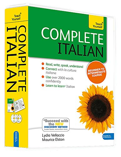 Complete Italian Beginner to Intermediate Course: Learn to read, write, speak and understand a new language (Teach Yourself) (Italian For Beginners Workbook)