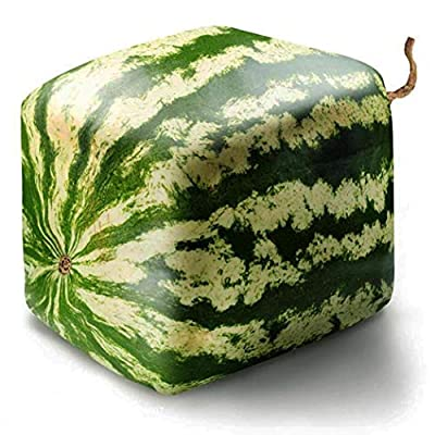 HOTUEEN 20/50Pcs Geometric Square Watermelons Seeds Delicious Chinese Fruit Fruits : Garden & Outdoor
