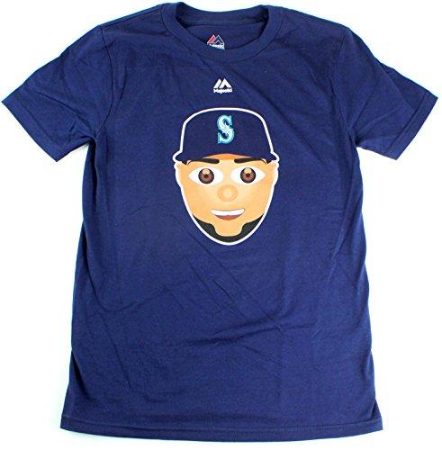 Nelson Cruz Seattle Mariners #23 MLB Youth Emoji Name & Number T-Shirt (Youth Large ()