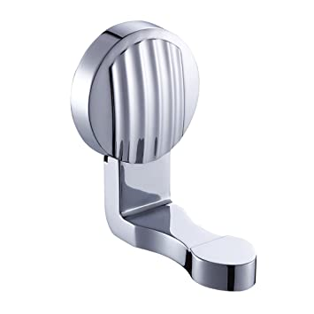 Moderna Solid Brass Chrome acabado cuarto de baño albornoz y toalla ganchos soporte de pared accesorios de baño a 63: Amazon.es: Bricolaje y herramientas