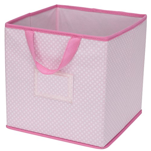 Delta Children 2 Piece Printed Storage Boxes, Barely Pink (2 Piece Drawers)